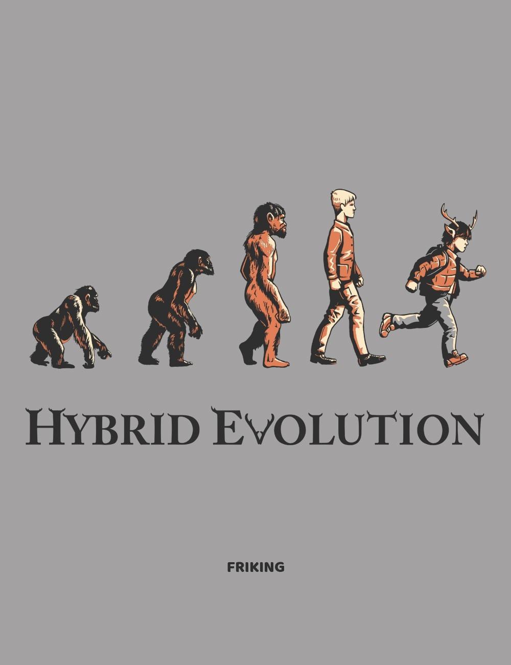 Hybrid Evolution