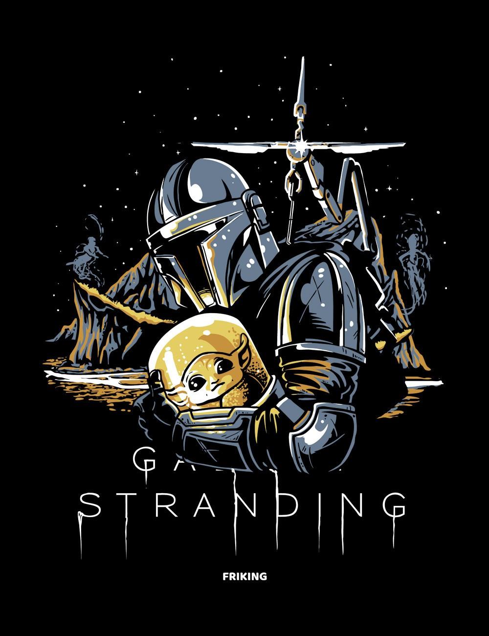 Galaxy stranding