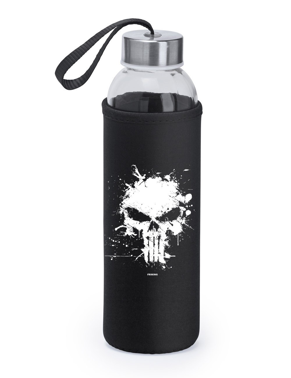 Botella de cristal Antihero...