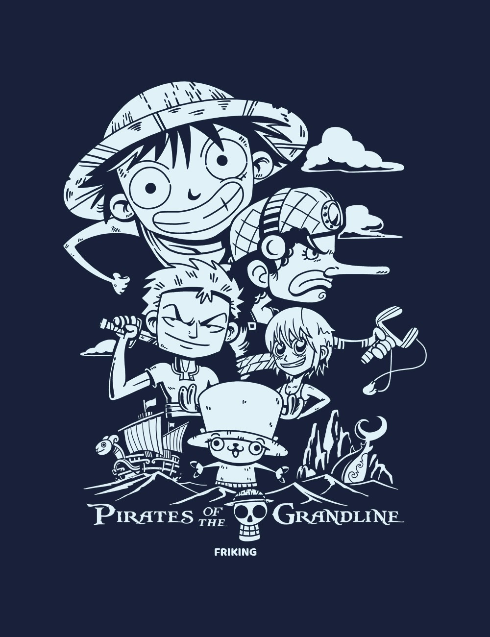 Pirates Of The Grand Line