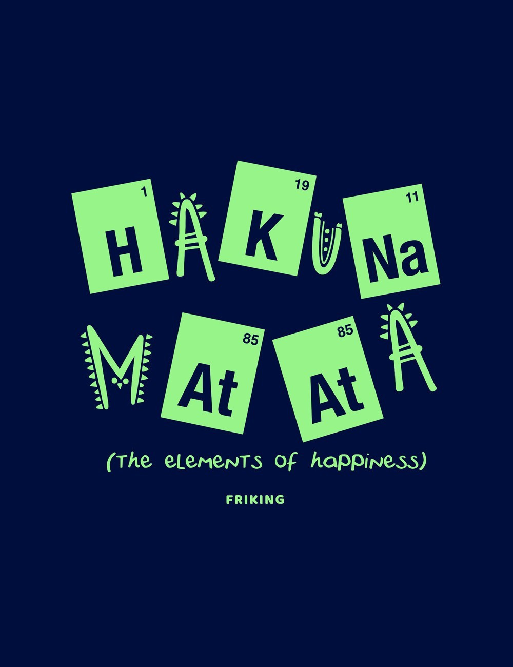 The Element Of Happiness