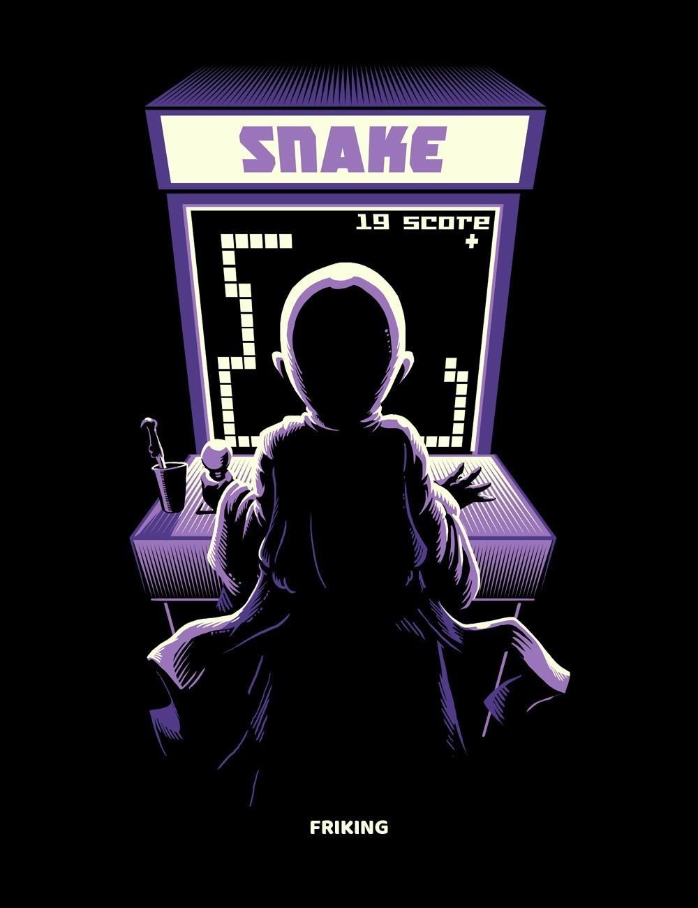 Arcade snake