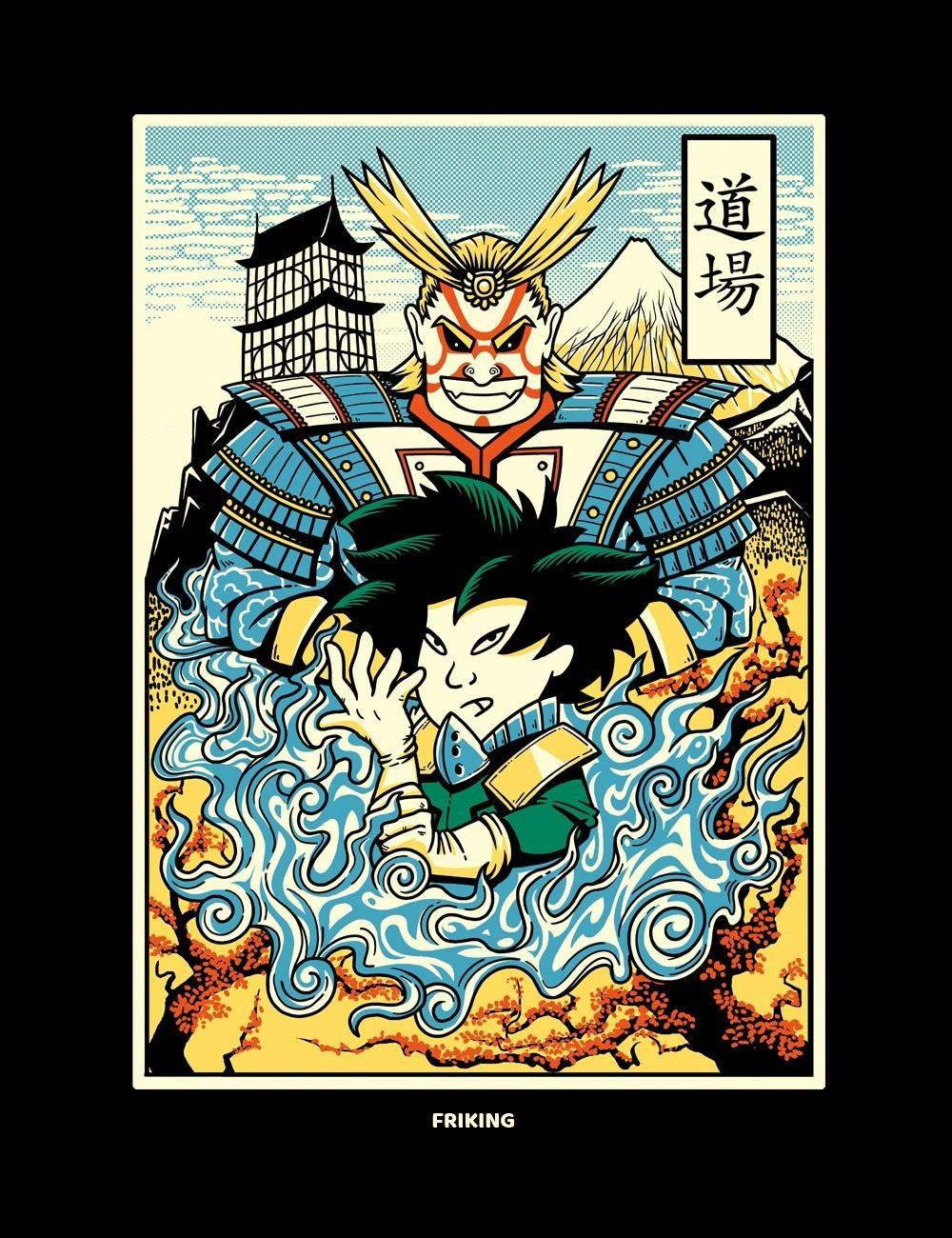 Ukiyo-e Hero