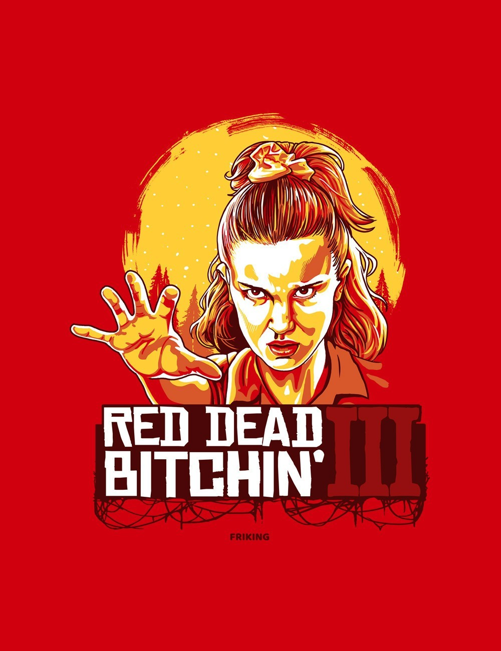 Red dead bitchin
