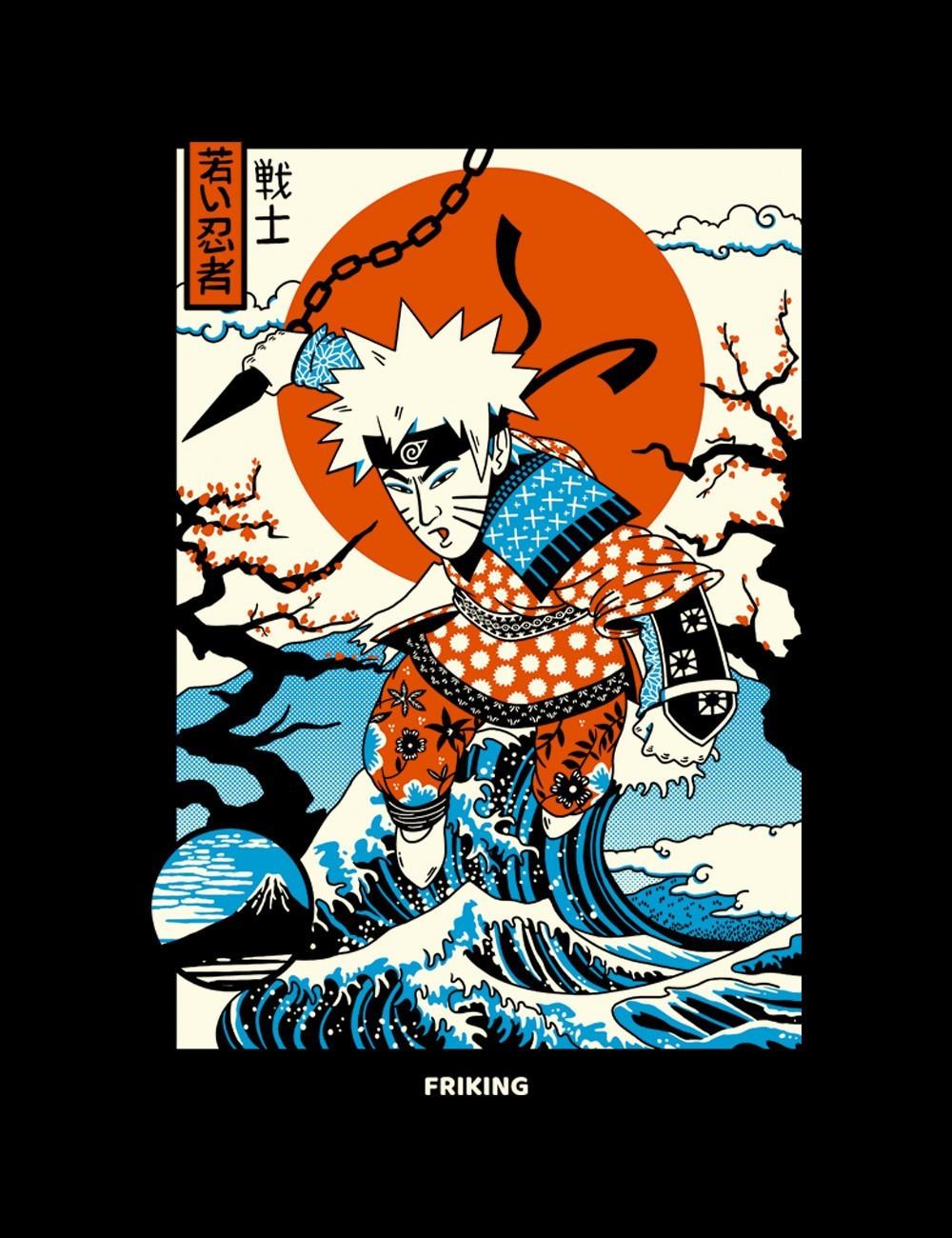 Ukiyo-e Ninja