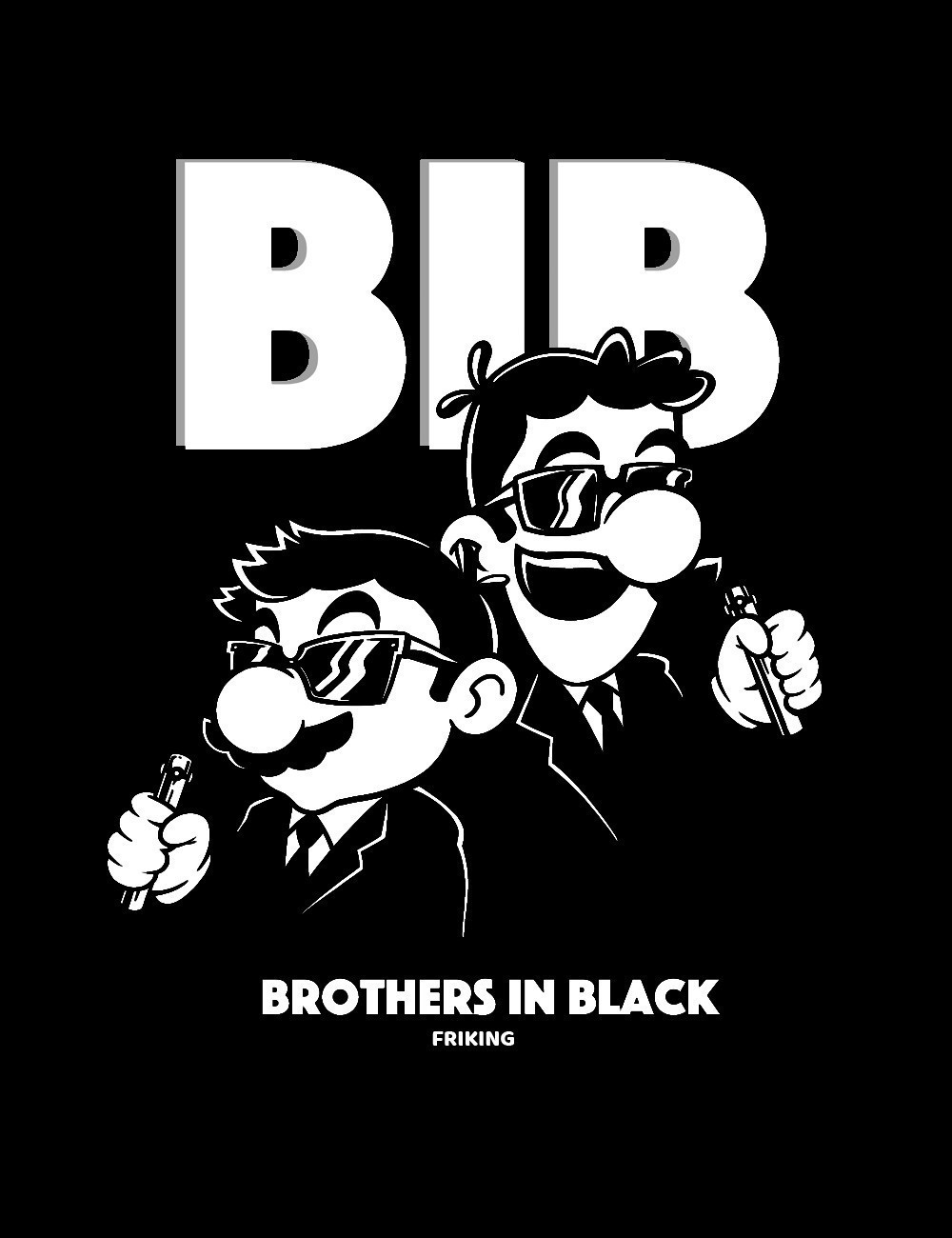 Brothers in black