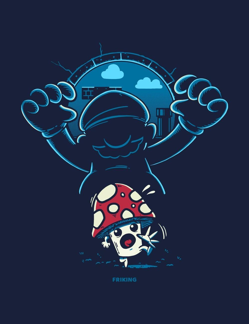 Running Mushroom