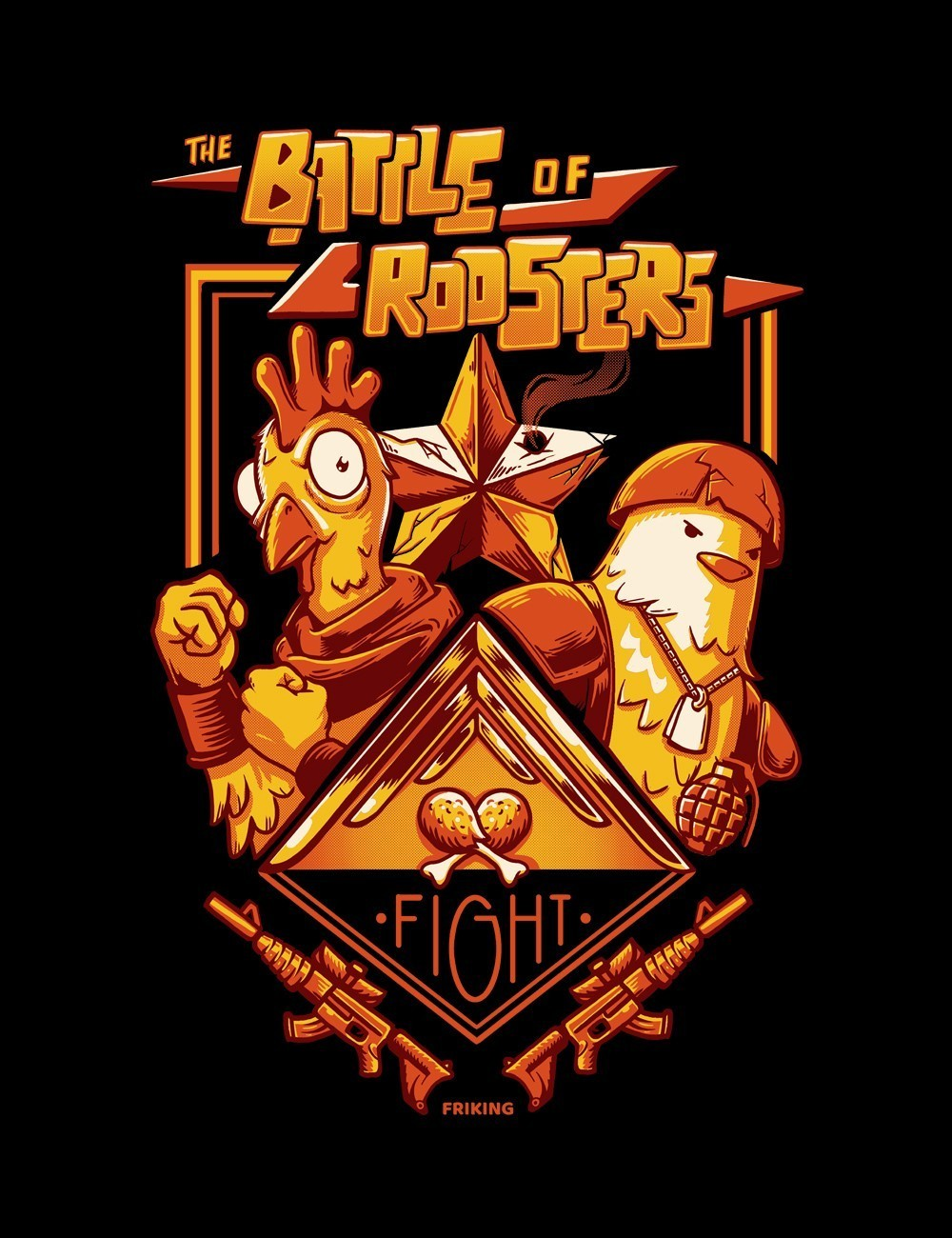 Battle Of Roosters