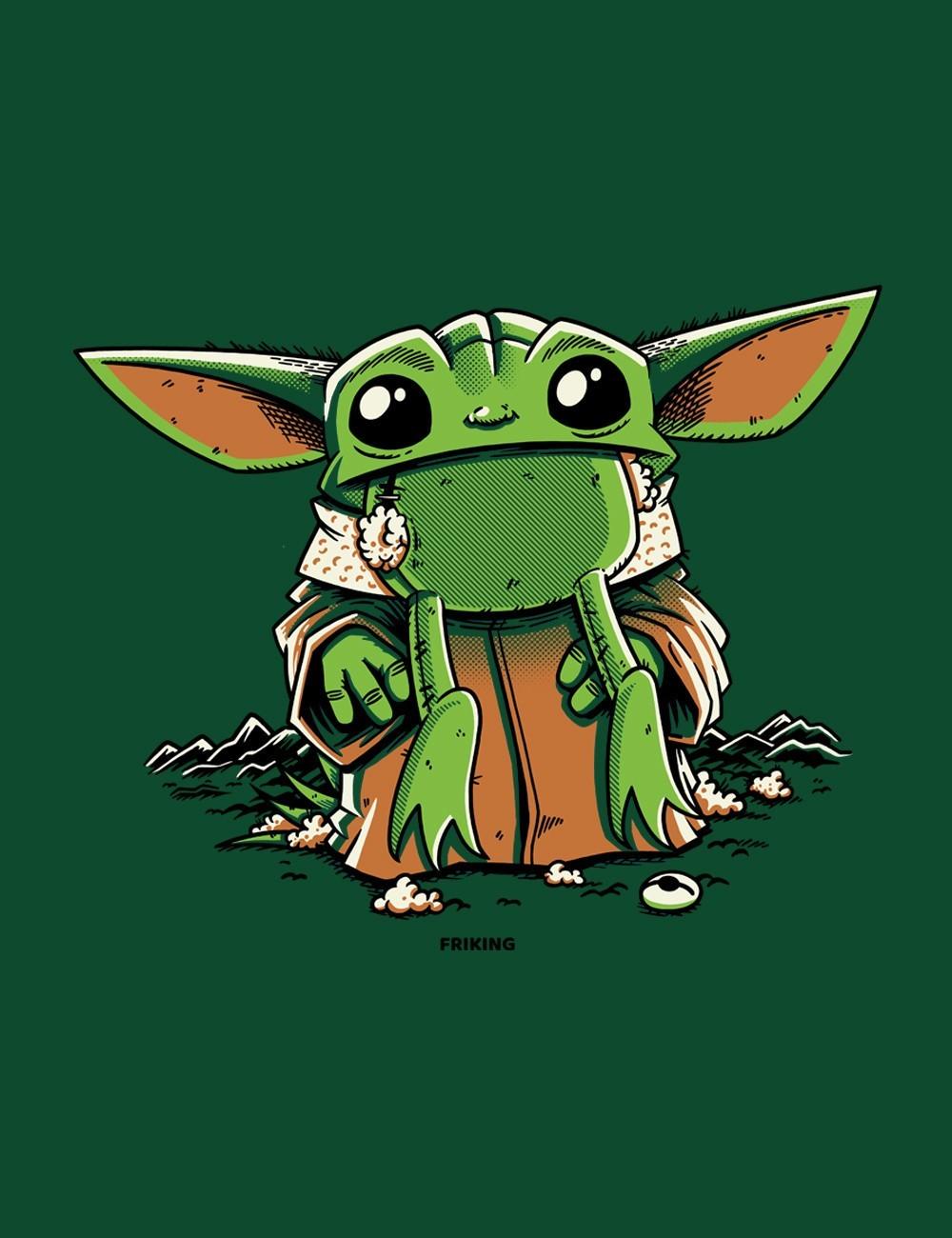Baby Alien Frog