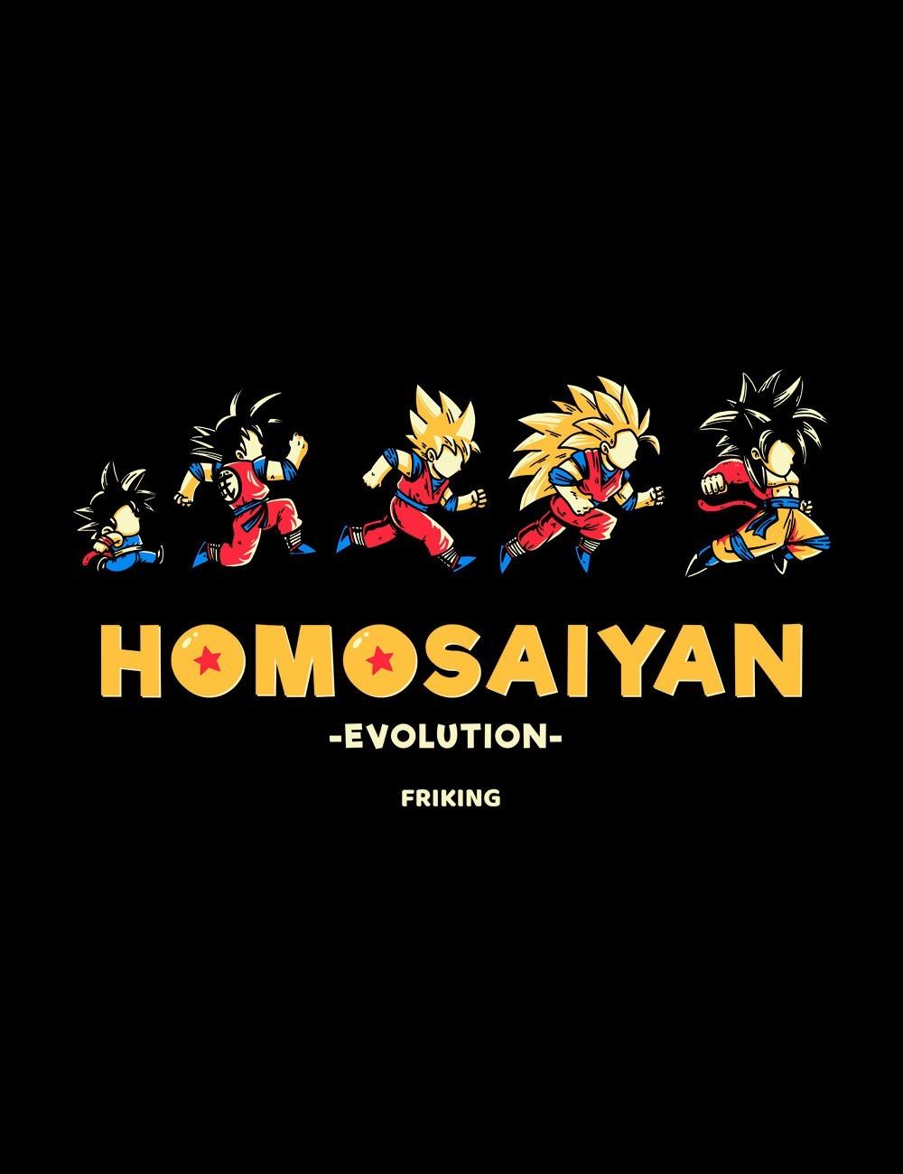 Homosaiyan Evolution