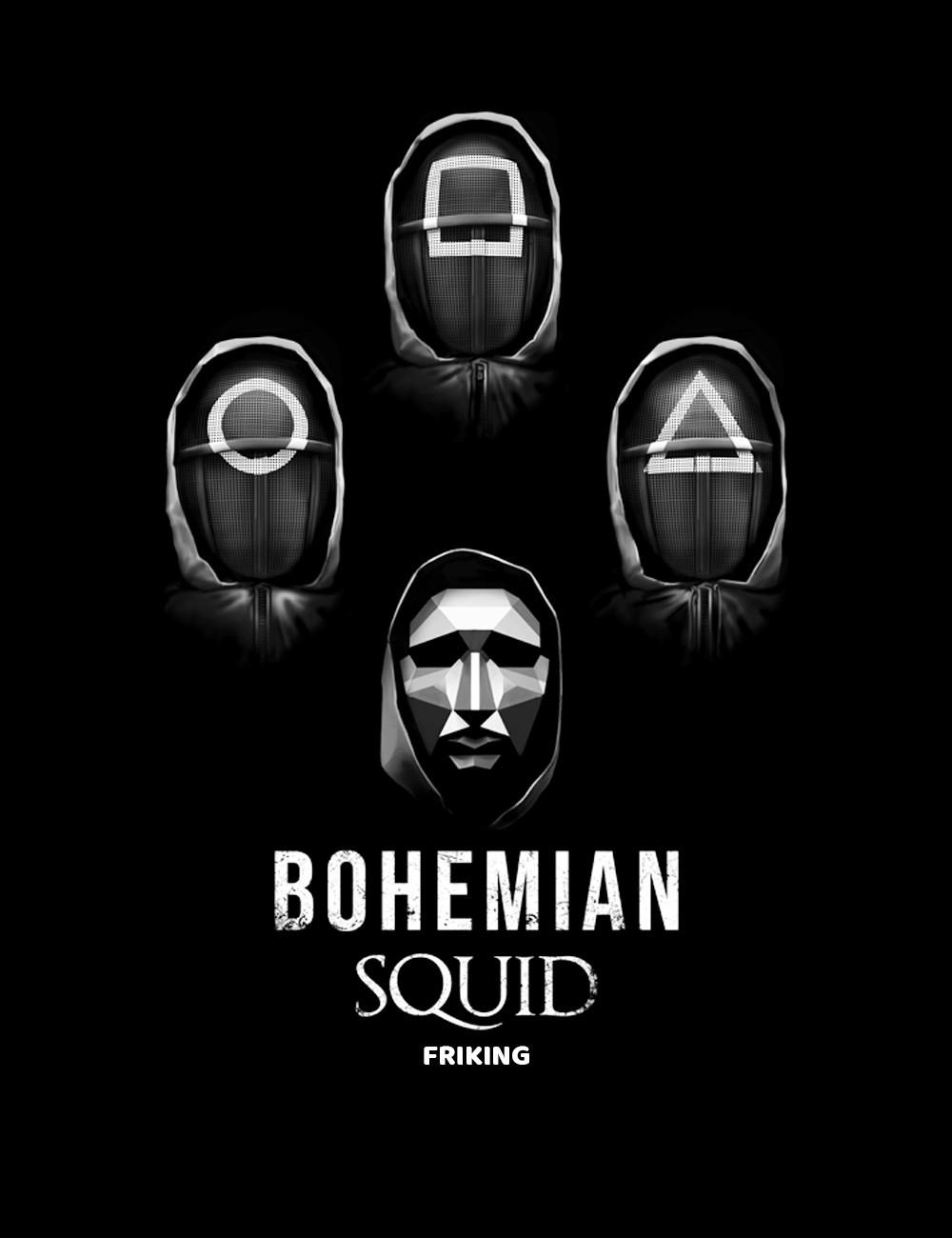 Bohemian Squid - El Juego del Calamar