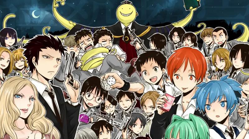 Assassination Classroom - 5 animes que no puedes perderte