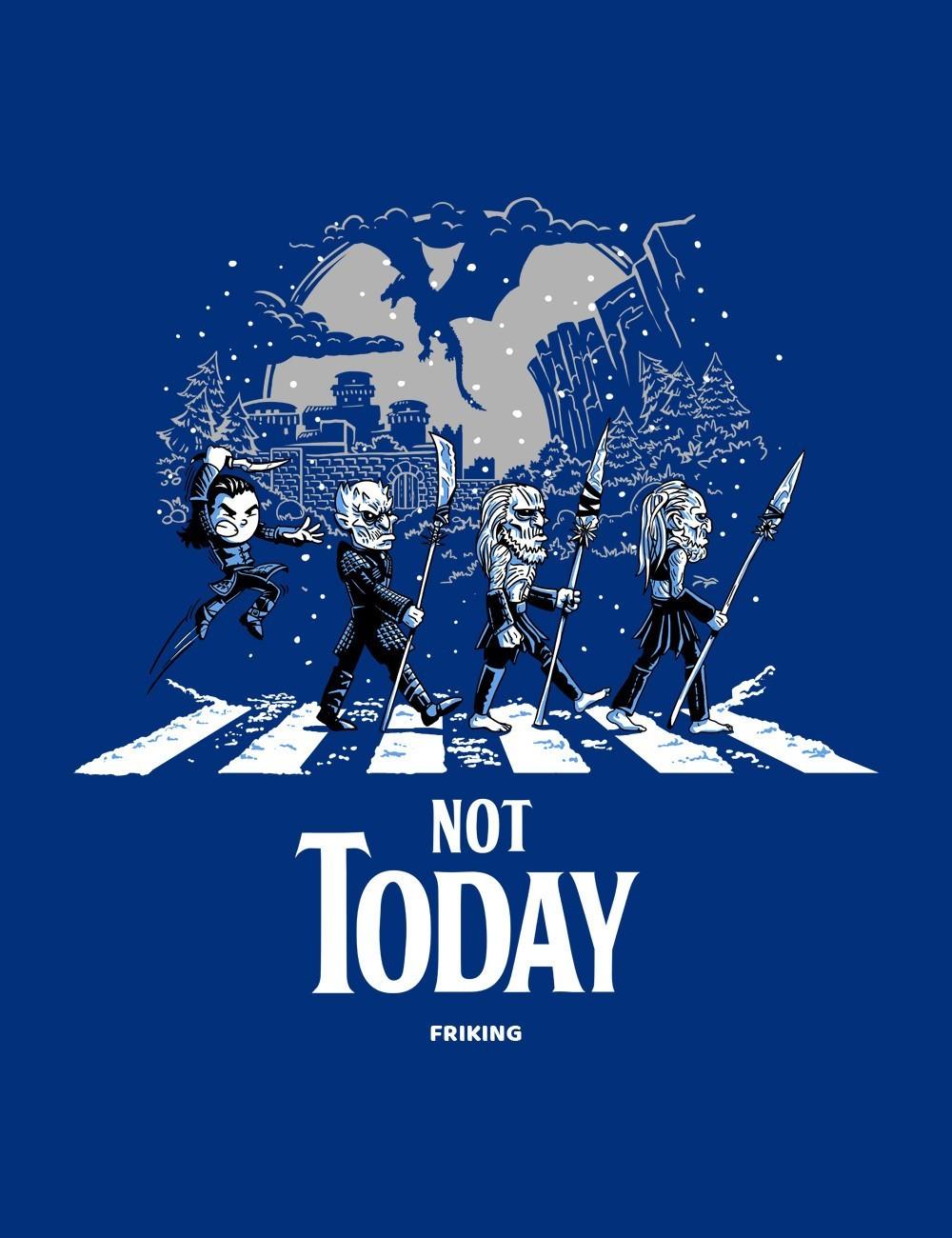 Camiseta Juego de tronos inspirada por nuestros ilustradores. No oficial.