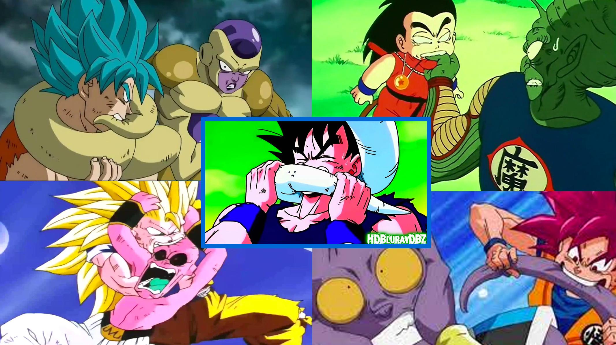 Curiosidades de Dragon Ball - Goku mordedor