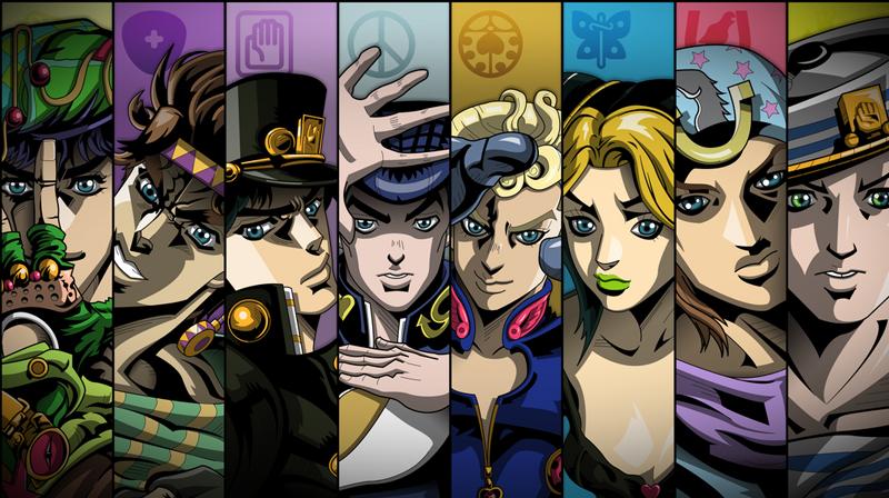 Jojo´s Bizarre Adventure - 5 animes que no puedes perderte