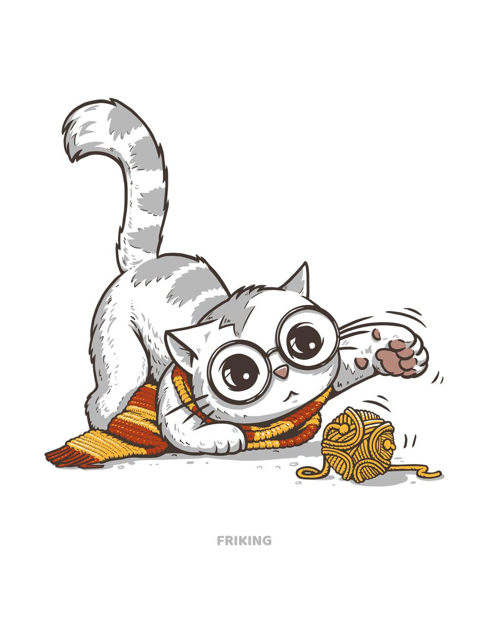 camiseta harry potter inspirada con nuestra mascota
