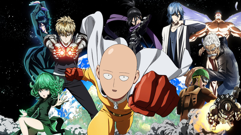 One Punch Man - 5 animes que no puedes perderte