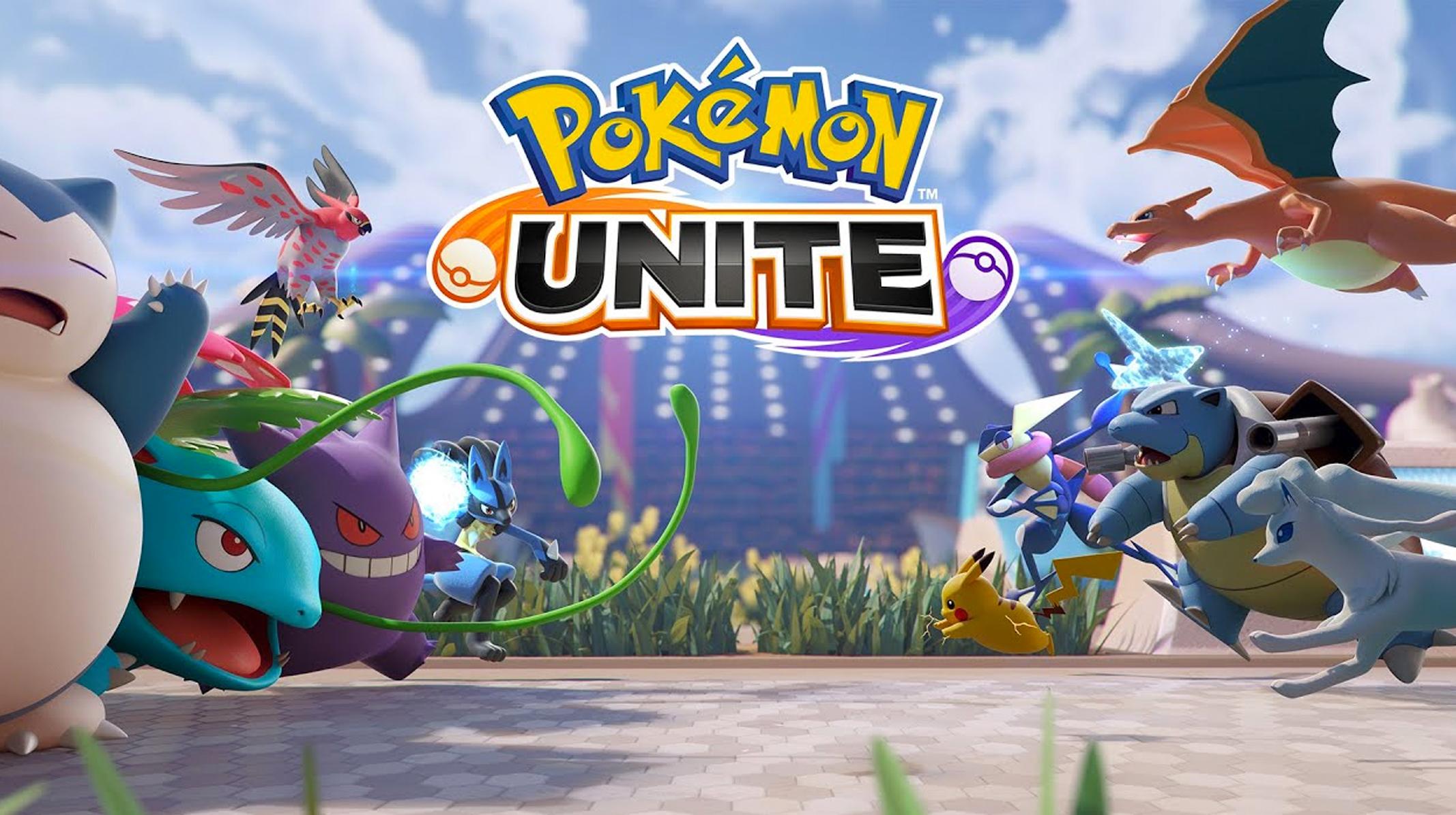 Pokemon Unite - Videojuego lanzamiento